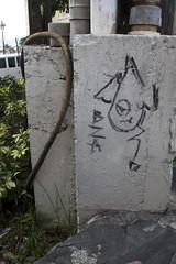 (Emptiness Of Light) Tags: art character tag bza san juan puerto rico 2012