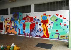 PROJETO HIP HOP SEM FRONTEIRAS - TRAÇOS LIVRES - UNIDADE CIP SÃO BENEDITO - SEMANA DA CRIANÇA - 2016 - OFICINA DE GRAFFITI (BENET - BNT) Tags: semana da criança hip hop sem fronteiras traços livres cip são benedito graffiti arte comunhão celebração 2016 benet natty caueta sócio educativo oficina