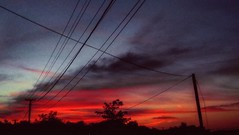 14350484_543593649184586_343582123661197312_n (dragica_basaric) Tags: sky cloud skyporn red grey unreal magical beautuful september fall autumn sunset art photographer photo lapovo serbia srbija sumadija db dragicabasaric danchy92 dbphotography