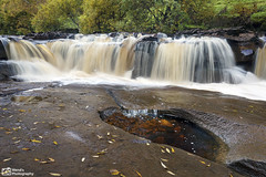 Wainwath Force in Autumn, Swaledale, Yorkshire Dales National Park. UK (Wend's photography) Tags: waterscape waterfall falls foss force wainwath swaledale swale autumn britain england uk yorkshire yorkshiredales dales landscape lee photography outdoor rural river rocks national park