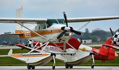 1985 Cessna A185F (Chad Horwedel) Tags: 1985cessnaa185f n9292 pontoons eaaairshow oshkosh wisconsin