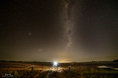 Milky Way Over Muddy Field (Bill Thoo) Tags: milkywayovermuddyfield parkes nsw australia sony a7rii samyang 14mm ngc landscape night astrophotography milkyway stars sky field explorer travel rural country bush
