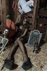 DSC_7442 (Robin Huang 35) Tags:  candy miruna   vampire  halloween  lady girl d810 nikon devil