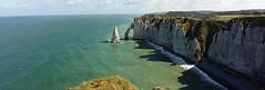 White Cliffs (viola.v94) Tags: cliffs scogliere normandia etretat summer sea travel