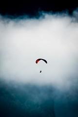 feeling free (alexhaeusler) Tags: mountain fog free gleitschirmfliegen paragliding