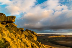Buckstones Sunset Oct 2016 026 (Mark Schofield @ JB Schofield) Tags: pennines pennineway peat rocks buckstones yorkshire huddersfield watershed moors moorland marsden bog england landscape sunset canon 5dmk3 pulehill standedge