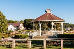 Mahone Bay buildings (Bridgetony) Tags: canada northamerica novascotia bandstand