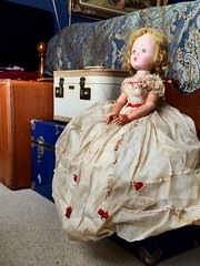 The Hope of Light (Historical.Dreams) Tags: beautiful cissy trunk suitcase doll vintage alexander madame