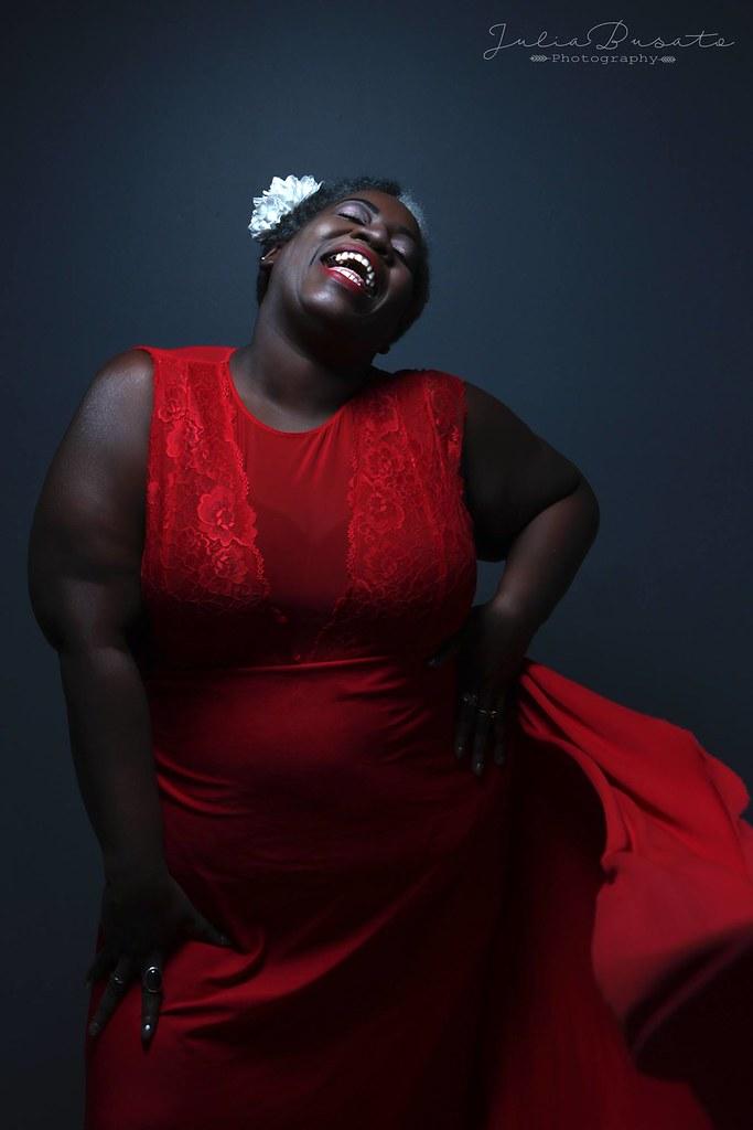 Ebony mature jazz