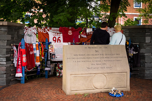 "Hillsborough Memorial, Sheffield • <a style=""font-size:0.8em;"" href=""http://www.flickr.com/photos/22350928@N02/30423790711/"" target=""_blank"">View on Flickr</a>"