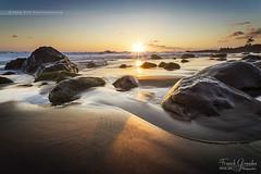 - Trs...or - (Frog 974) Tags: ledelarunion coucherdesoleil saintleu bois blanc sable noir or mer