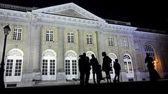Palais des Colonies, Tervuren (Martin Attfield) Tags: night palace tervuren belgium silhouettes building