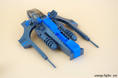 Unemga fighter (RMX) 02 (F@bz) Tags: sf starfighter rmx space scifi starship spaceship