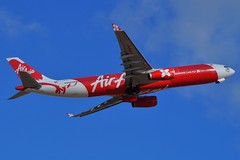 9M-XXI  Air Asia X Airbus A330-343 (johnedmond) Tags: perth ypph australia asia airbus a330 aviation aircraft aeroplane