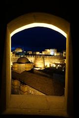 Rabati castle, Akhaltsikhe, Georgia (Marek Soltysiak) Tags: caucasus gruzja georgia sakartwelo kaukaz autumn akhaltsikhe samtskhe javakheti rabat rabati castle tower night light illumination