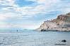 Walking on water (Pe_Wu) Tags: realmonte sicilia italy porto empedocle agrigento scala dei turchi rocky cliff rock white water blue sky clouds coast it