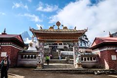 Tengboche monastery (mtanzi) Tags: tengboche himalayas nepal