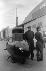 (anchorage) (Dinasty_Oomae) Tags: nagel vollenda    blackandwhite bw monochrome outdoor jmsdf    shimofusaairbase  submarine