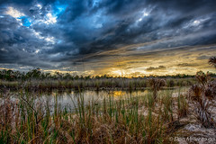 Drama in the Sky (DonMiller_ToGo) Tags: hdr cloudporn 3xp millerville nature hdrphotography goldenhour sky outdoors lake d810 florida clouds