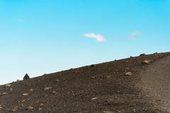 Hverfjall vulcano sky path (lumofisk) Tags: himmel hverfell hverfjall iceland island2016 tuff wolke ashes bluesky cloud path pfad sky vulcanic nikondf 70200mmf28 200mm