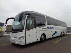 YT12YUS McLean's of Airdrie in Blackpool (j.a.sanderson) Tags: yt12yus mcleans airdrie blackpool coach coaches irizar i6 scania k360eb6 irizari6 2012 princess westend