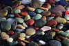 Polished Beach Pebbles - 1 (fksr) Tags: beachpebble pebble rock polished colorful shiny macro marincounty california