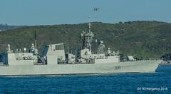 RNZN Seaprite over HMCS Vancouver (111 Emergency) Tags: wellington navy new zealand rnzn seaprite over hmcs vancouver
