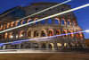Colosseum (Paolo Cinque / www.paolocinque.it) Tags: photo photography photographer nikkor nikon d7100 nikond7100 camera reflex dslr dx shot image pic picture awesome fantastic perfect masterpiece beautiful nice stunning cool night nightlights dusk sunset bluehour blue blu color colors colour colours travel traveler traveller traveling travelling tour tourism tourist sight sightseeing wonderful world wordlwide adventure discover discovery longexpsosure colosseo colosseum roma rome rom italiano italiana italian romano roman italy lazio latium anfiteatroflavio romanempire flickrtravelaward