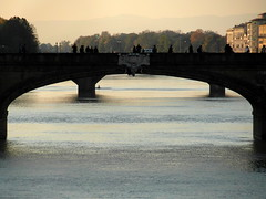 florence arno afternoon (3) (kexi) Tags: florence firenze florencja italy europe toscany tuscany arno river water bridges afternoon samsung wb690 october 2015 instantfave