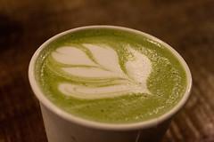 Matcha Tulip (juliafrenchfrey) Tags: coffee coffeeshop matcha tea latteart latte glenedithcoffee drink drinks