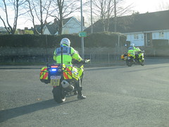 VIP visitor. (aitch tee) Tags: vipvisitor policemotorcycle heddludecymru motorcycleescort walesuk