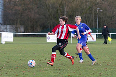 Altrincham LFC vs Stockport County LFC - December 2016-175 (MichaelRipleyPhotography) Tags: altrincham altrinchamfc altrinchamlfc altrinchamladies alty amateur ball community fans football footy header kick ladies ladiesfootball league merseyvalley nwrl nwrldivsion1south nonleague pass pitch referee robins shoot shot soccer stockportcountylfc stockportcountyladies supporters tackle team womensfootball