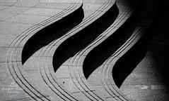 Divisions (SimonTHGolfer) Tags: blackandwhite contrast curves lines monochrome light shadows dark architecture nikon simontalbothurnphotography minimal minimalist minimalism