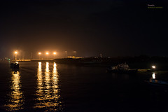 Night over the river Buriganga (Manzur Ahmed) Tags: night buriganga dhaka keraniganj bangladesh river black golden light nikon d7100 18140 outdoor