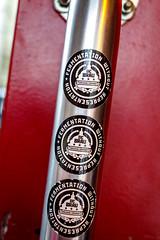 Fermentation (Karol A Olson) Tags: craftfair dcbrau washington dc decal doorhandle brewery craftbeer