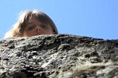 On the rocks (wenmft) Tags: girl camping hiking rockclimbing tween nature mountains idyllwild california