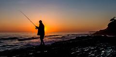 """""""snapper rocks george the fisherman"""" (rod marshall) Tags: sunrisesnapperrocksbestsunriseptdangersunrisesunrise snapperrocks bestsunrise ptdanger sunrise sunrisesnapperrocksbestsunriseptdangersunrise redsunrise snapperrockssunrise fisherman snapperrocksfisherman fishermansnapperrocks"""