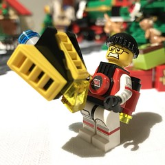 Some people just don't receive gifts very well (Neil Crosby) Tags: christmas blacktron mtron lego