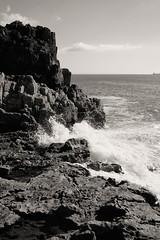 Rocks (awbaganz) Tags: sea nature waves rocks horizon splash seascape portugal seashore atlantic cascais fuji xt1 xf23mm