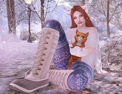Snow Kitties (Anastasia Beaverhausen www.amadeodubratt.com) Tags: truth pinkfuel catwa thesugargarden evermore maitreya izzies unitedandkind deaddollz ama hextrodinary friday c88 cathoratio safe