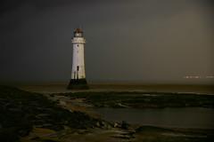 Perch Rock lighthouse (PentlandPirate of the North) Tags: perchrocklighthouse wirral merseyside liverpool newbrighton night