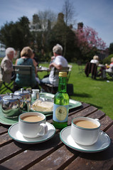 Uppark House and Gardens (Jainbow) Tags: people house grass gardens sussex tea lawn cups put saucers uppark jainbow