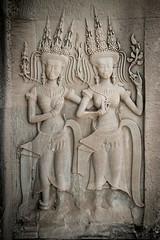 APSARA (Daddi Andrea) Tags: sculpture art statue architecture temple ancient asia cambodge cambodia southeastasia khmer arte buddha buddhist religion buddhism angkorwat unesco reap tropical wat siam antico architettura cultura asean indochine basrelief siamreap scultura tempio buddista bassorilievi cambogia buddismo indocina