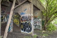 Graffiti Pier in Philly (HKSpowered) Tags: street urban art abandoned philadelphia museum river graffiti pier pennsylvania pa philly delaware urbex