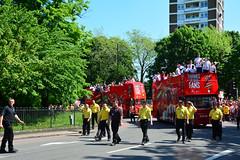 Arsenal (John A King) Tags: corner victory parade highbury arsenal