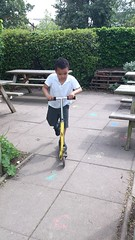 Liam's mastered the scooting thing