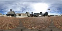 CiviqSquare Wellington - Panorama 2 (jeglikerikkefisk) Tags: newzealand panorama capital hauptstadt wellington civicsquare downunder neuseeland 360 equirectangular kugelpanorama windywelly