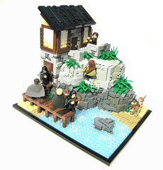 LOM: Remnants (Stephen Boe) Tags: landscape rocks lego lands moc mythron