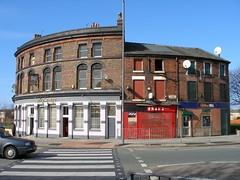 Lambeth Hotel, 105 Smith Street and Foley Street, Liverpool 5. March 2007. (philipgmayer) Tags: lambeth pub ooo smithstreet foleystreet liverpool demolished 1000