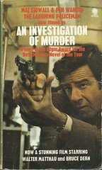 An Investigation of Murder (Covers etc) Tags: fiction paperback crime sphere bookcover 1970s waltermatthau martinbeck